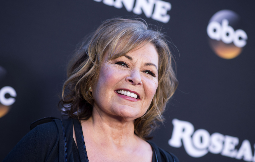 Actress/Executive producer Roseanne Barr attends The Roseanne Series Premiere at Walt Disney Studios on March 23, 2018 in Burbank, California.