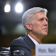 Neil Gorsuch testifies before the Senate Judiciary Committee on his nomination to be an associate justice of the US Supreme Court.