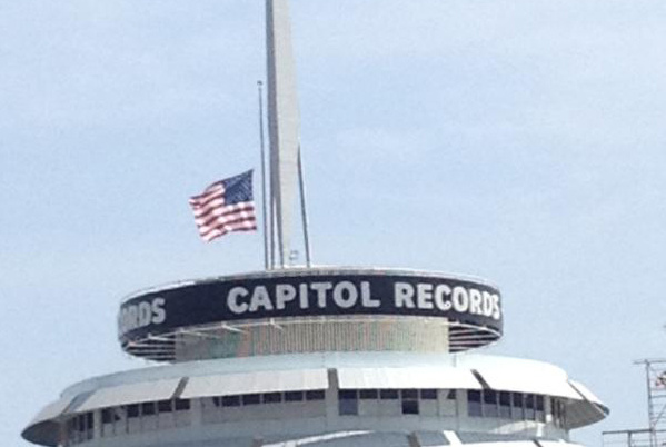 Capitol Records flies their flag at half-staff Friday in tribute to Beastie Boy Adam Yauch who died of cancer at 47.
