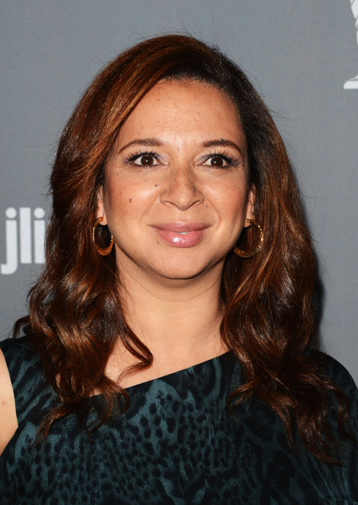 Actress Maya Rudolph attends the 15th Annual Costume Designers Guild Awards in February 2013.