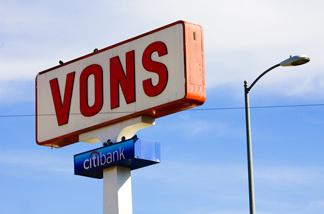 Vons sign