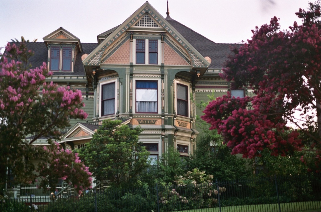 One of the Victorian homes of historic Angelino Heights.