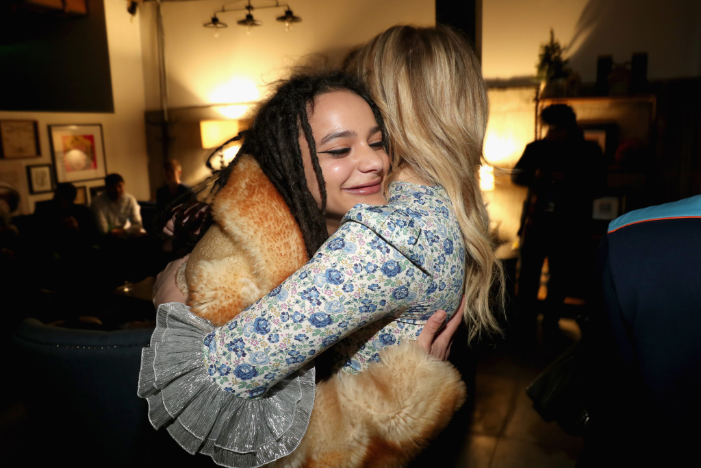 Actors Sasha Lane and Chloe Grace Moretz attend the IMDbPro Party to celebrate the premiere of 'The Miseducation of Cameron Post' on January 22, 2018 in Park City, Utah.