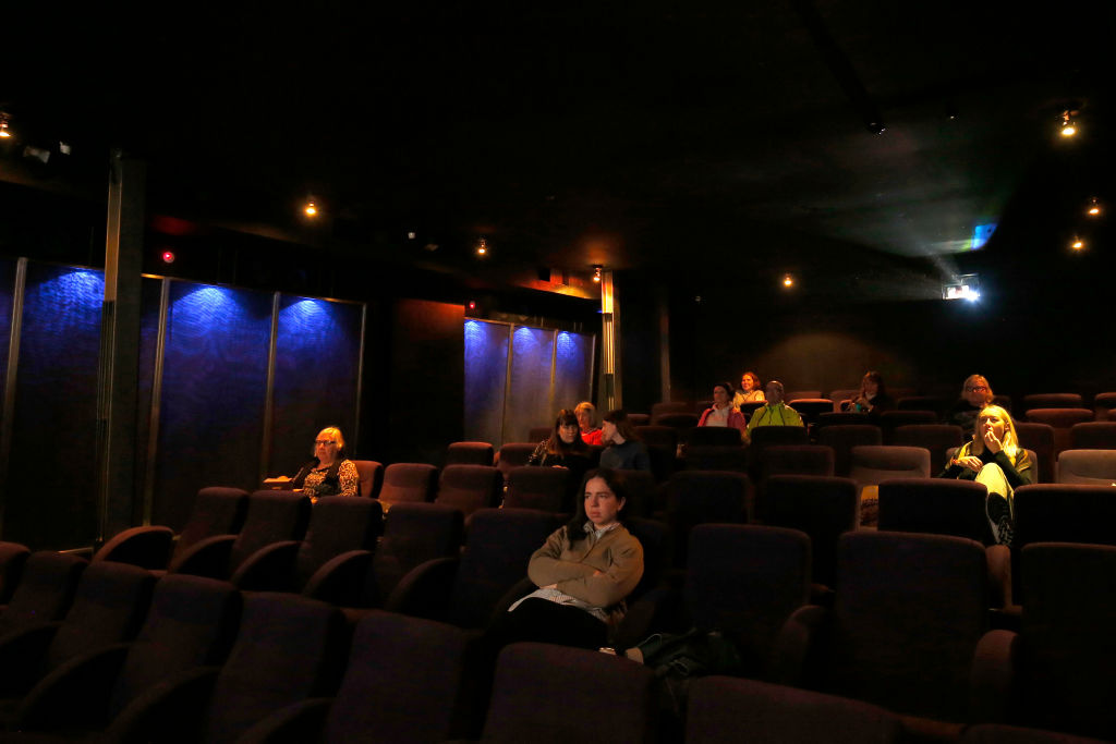 People return to the movie theatre at Cinema Nova in Carlton on June 22, 2020 in Melbourne, Australia.