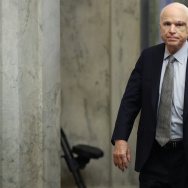 Sen. John McCain was recently diagnosed with brain cancer but returned on the day the Senate is holding a key procedural vote on efforts to repeal and replace the Affordable Care Act.