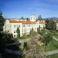 The Stanley Academic Quad at Pomona College in Claremont, California