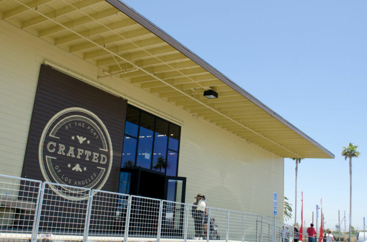 Crafted at the Port of Los Angeles in San Pedro Calif. opens this weekend with live music, handmade artisnal goods, craft tables, pony rides, beer tastings and live dance performances.