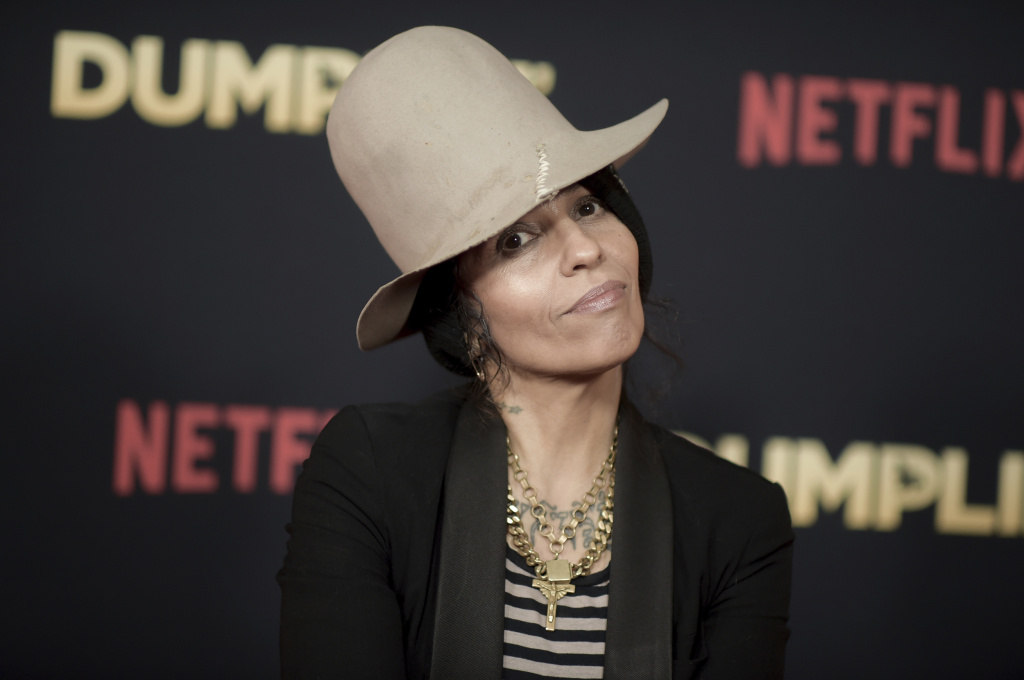 Linda Perry attends the world premiere of
