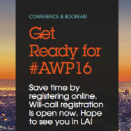 Association of Writers and Writing Programs conference and bookfair kicks off this week in Los Angeles!