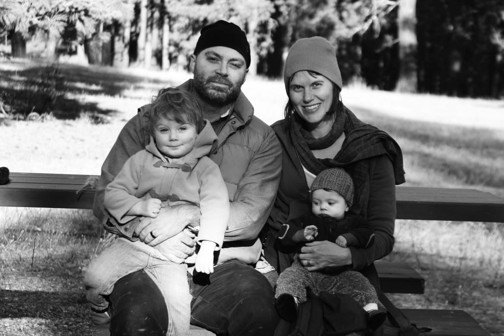 The Freeman family.