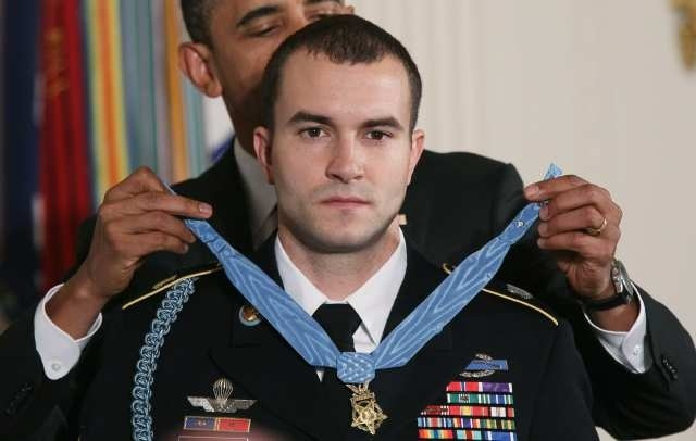 On November 16th 2010, Staff Sgt. Sal Giunta became the first living Medal of Honor recipient for combat action since Vietnam. All previous awards of the Medal of Honor for service since 9/11 were made posthumously.