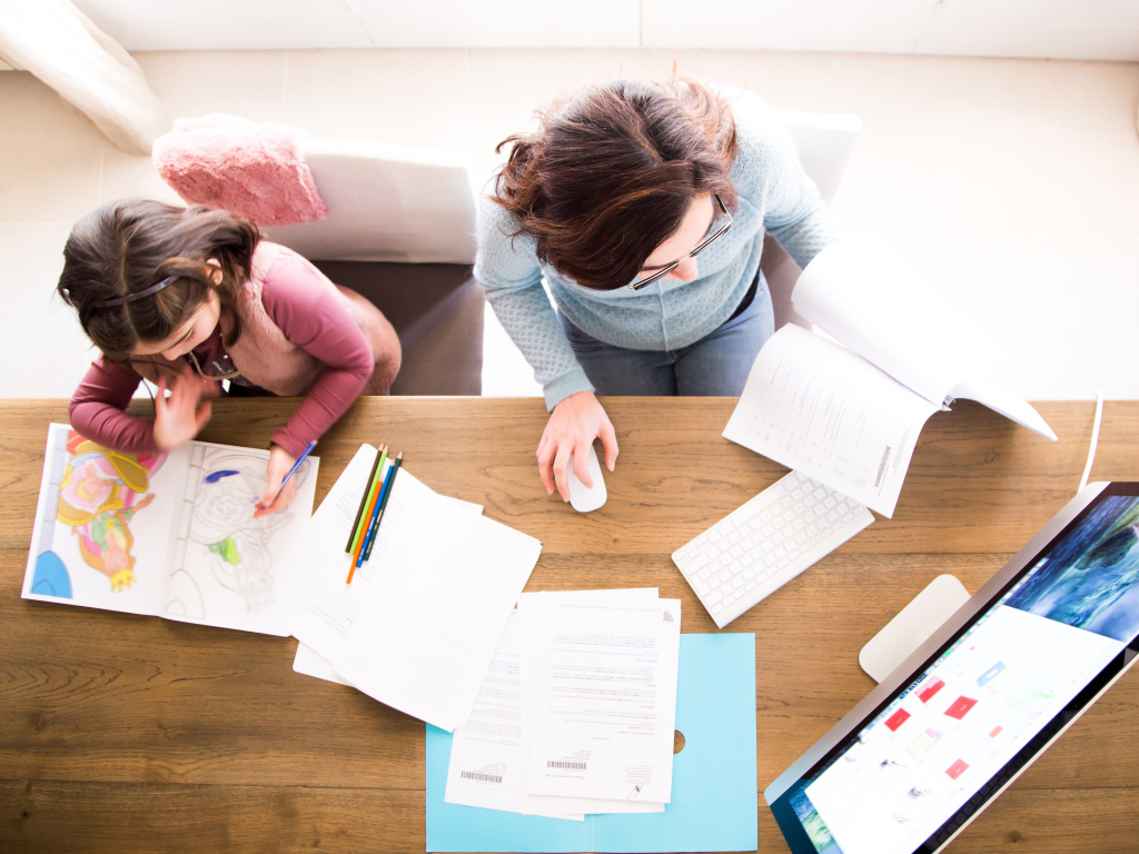 Many parents suddenly have the task of making sure their kids learn while adjusting to a new life of managing working from home.