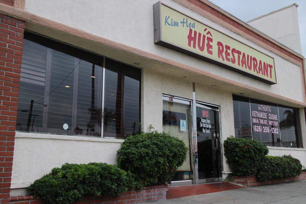 Kim Hoa Hue Restaurant.