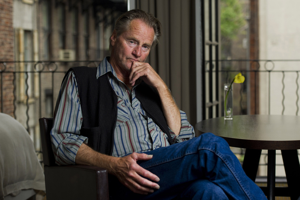 Sam Shepard poses for a portrait in New York, Thursday, Sept, 29, 2011. He died Thursday at the age of 73.