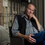Sam Shepard poses for a portrait in New York, Thursday, Sept, 29, 2011. (AP Photo/Charles Sykes)