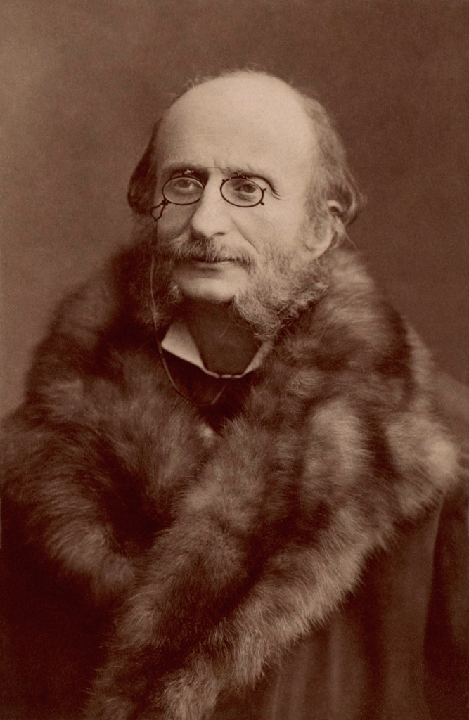 Composer Jacques Offenbach, 1819-1880.