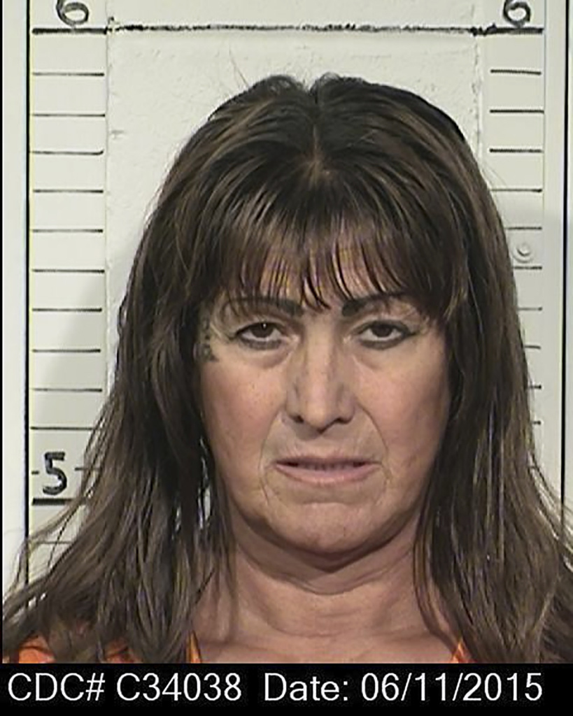 This June 11, 2015, file photo provided by the California Department of Corrections and Rehabilitation shows Shiloh Heavenly Quine. The 57-year-old convicted killer has become the first U.S. inmate to receive state-funded sex reassignment surgery. Shiloh Heavenly Quine has been living as a woman in a California men's prison. The surgery was scheduled for Thursday, and her attorneys told The Associated Press on Friday, Jan. 6, 2017, that it was performed. California prison officials agreed in 2015 to pay for the surgery for Quine.