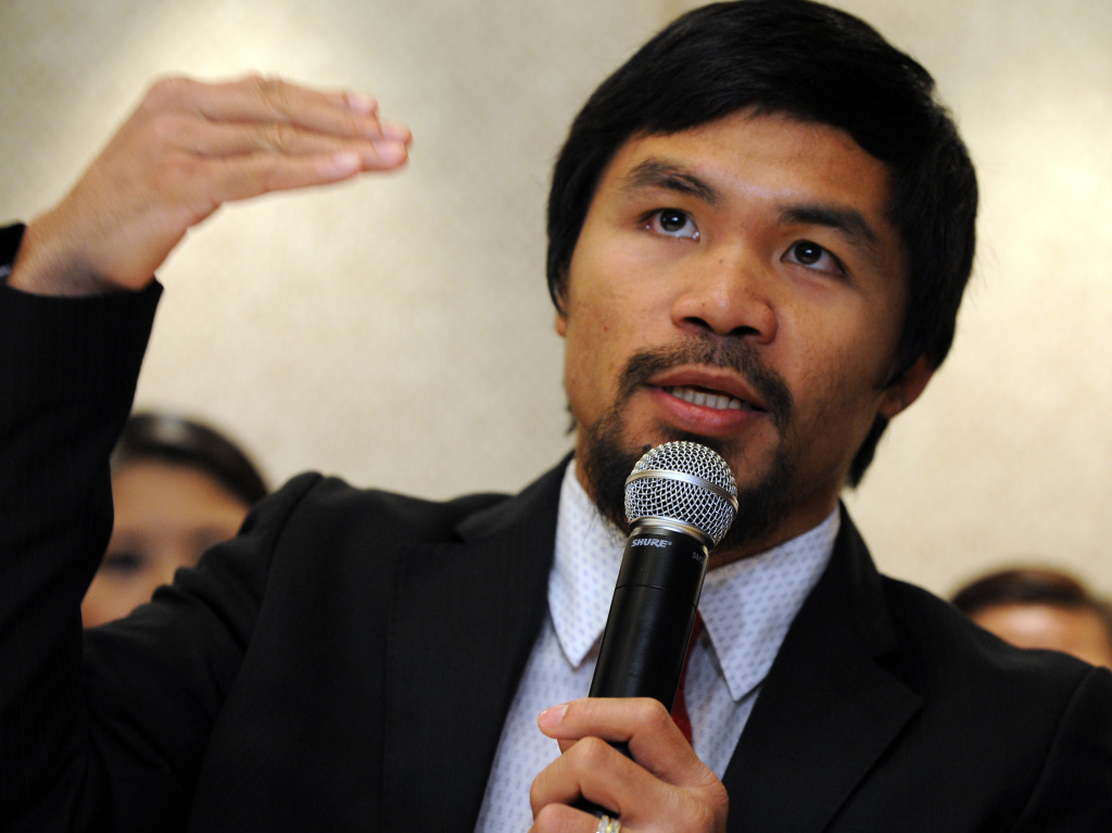 Philippine boxing icon Manny Pacquiao.