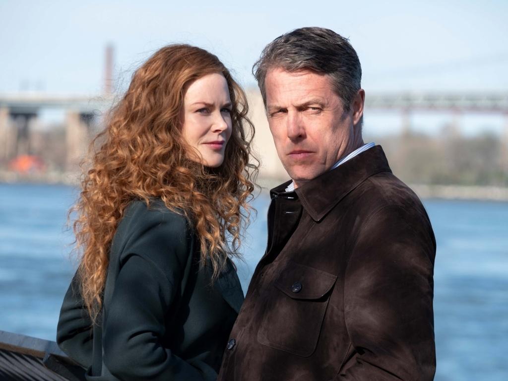 Grace (Nicole Kidman) and Jonathan (Hugh Grant) come undone in <em>The Undoing</em>.