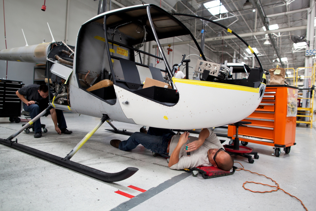 The Making Of A Helicopter How Helicopters Are Made At
