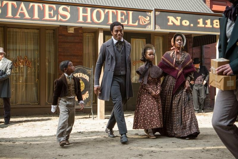 A production still from Steve McQueen's '12 Years a Slave.