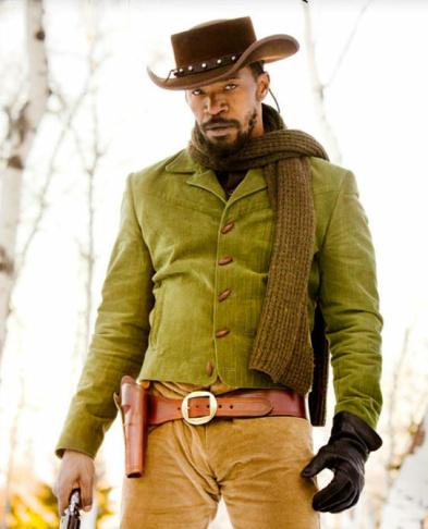 Jamie Foxx as Django in