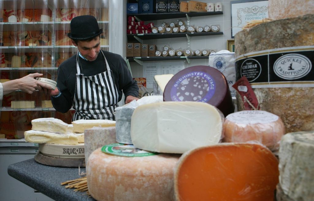 A new law in Denmark places a tax on foods such as butter and cheese.
