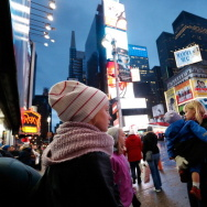 Times Square Exteriors Following Hurricane Sandy