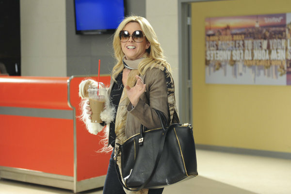 "Jenna Maroney makes her way to Los Angeles on the last episode of ""30 Rock."""