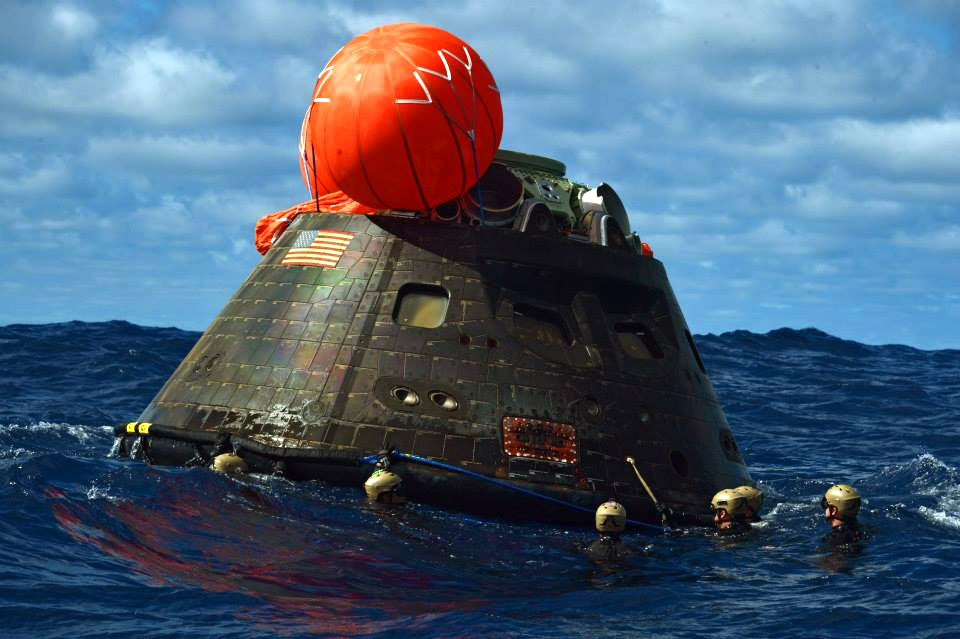 Slideshow: Navy returns NASA's Orion spacecraft after test ...