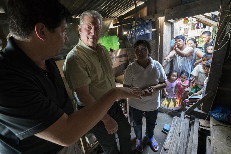 A scene from Al Gore's