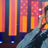 "Hasan Minhaj in his Netflix comedy special ""Homecoming King."""