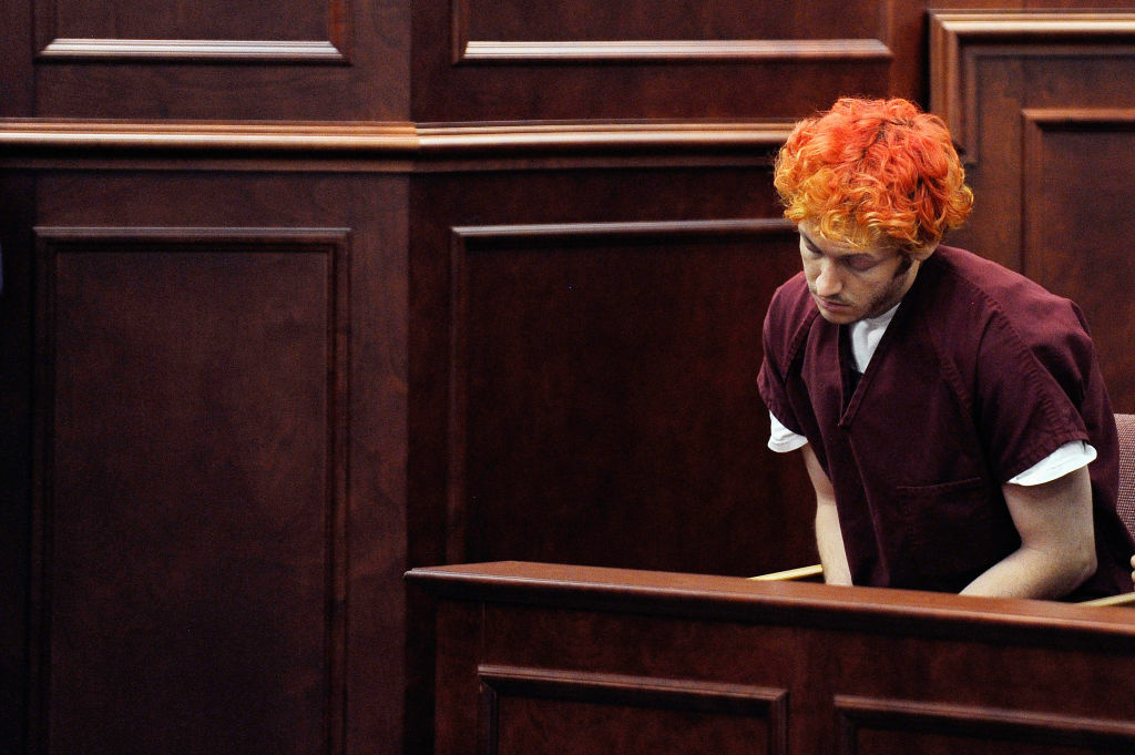 Accused movie theater shooter James Holmes made his first court appearance at the Arapahoe County on July 23, 2012 in Centennial, Colorado. According to police, Holmes killed 12 people and injured 58 others during a shooting rampage at an opening night screening of