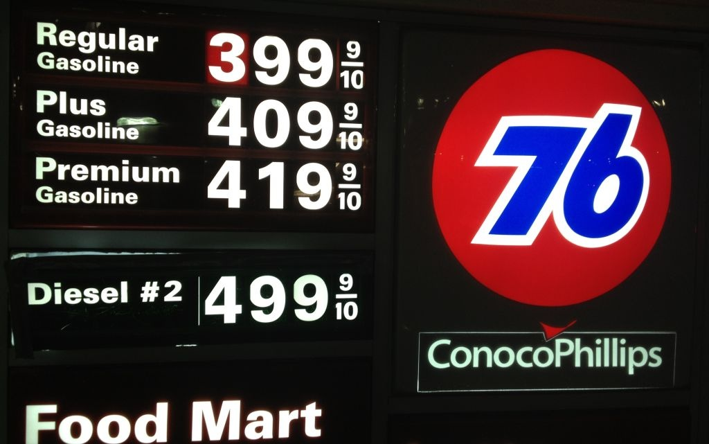 Gasoline prices in Southern California are nearing or above $4 a gallon at many stations. The prices have been rising for weeks.