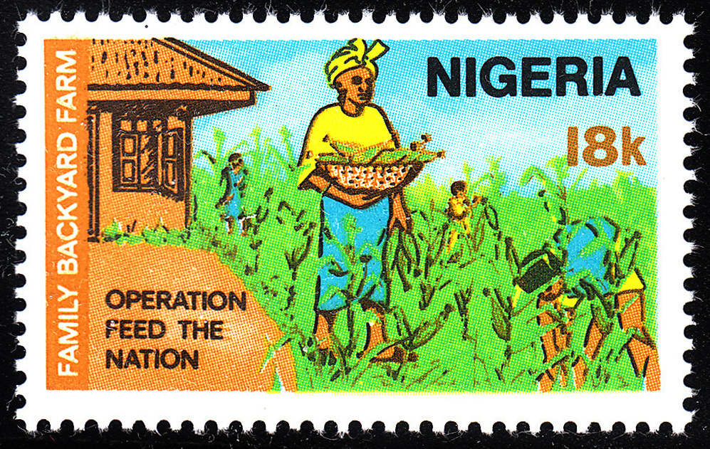 This 1976 stamp from Nigeria promoted