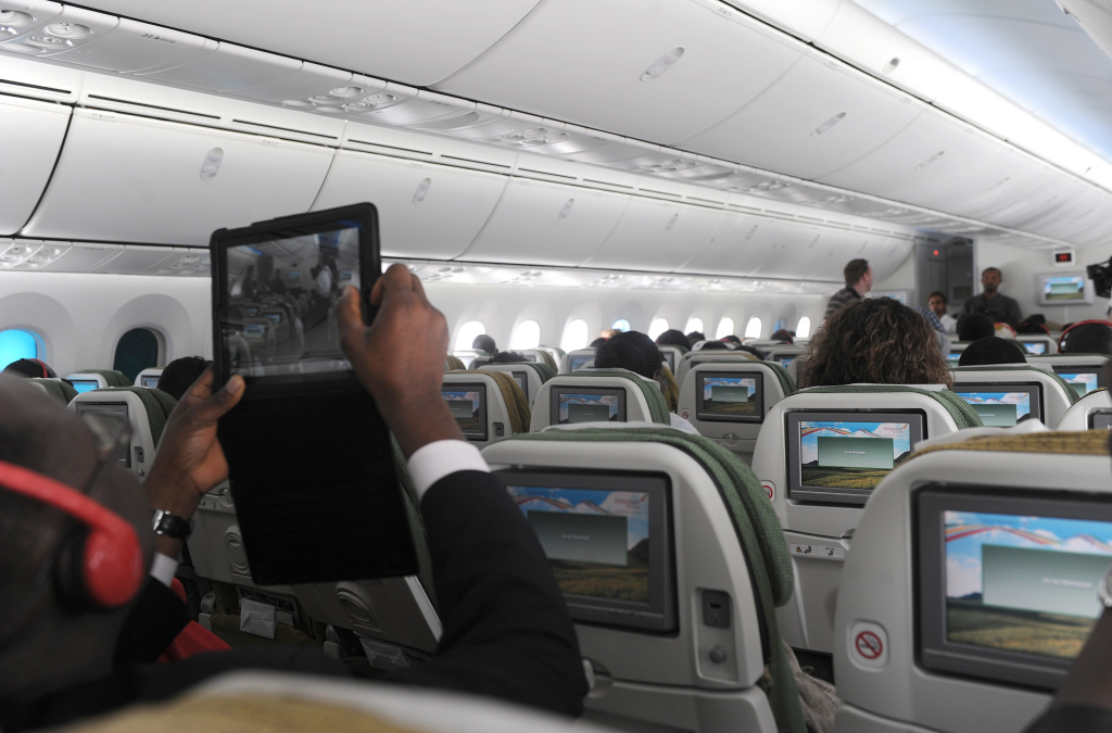 Will more people be making in-flight phone calls?