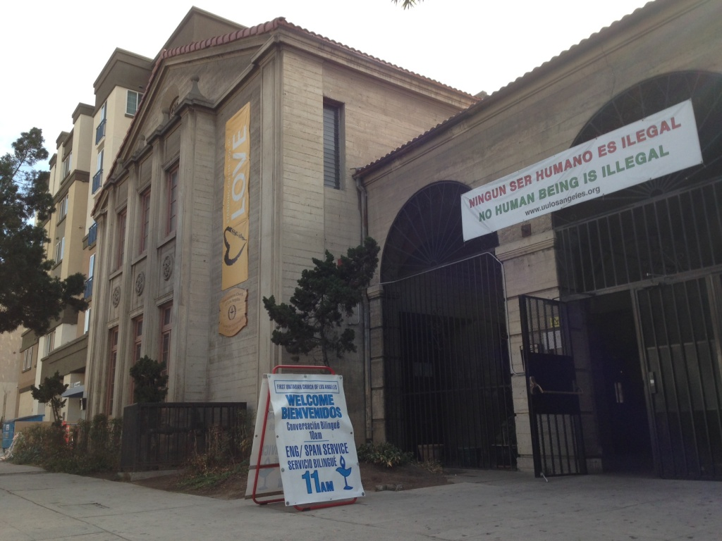 First Unitarian Church made the list of potentially earthquake vulnerable L.A. buildings.
