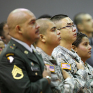 Thousands Of People Become US Citizens At Mass Naturalization Ceremony