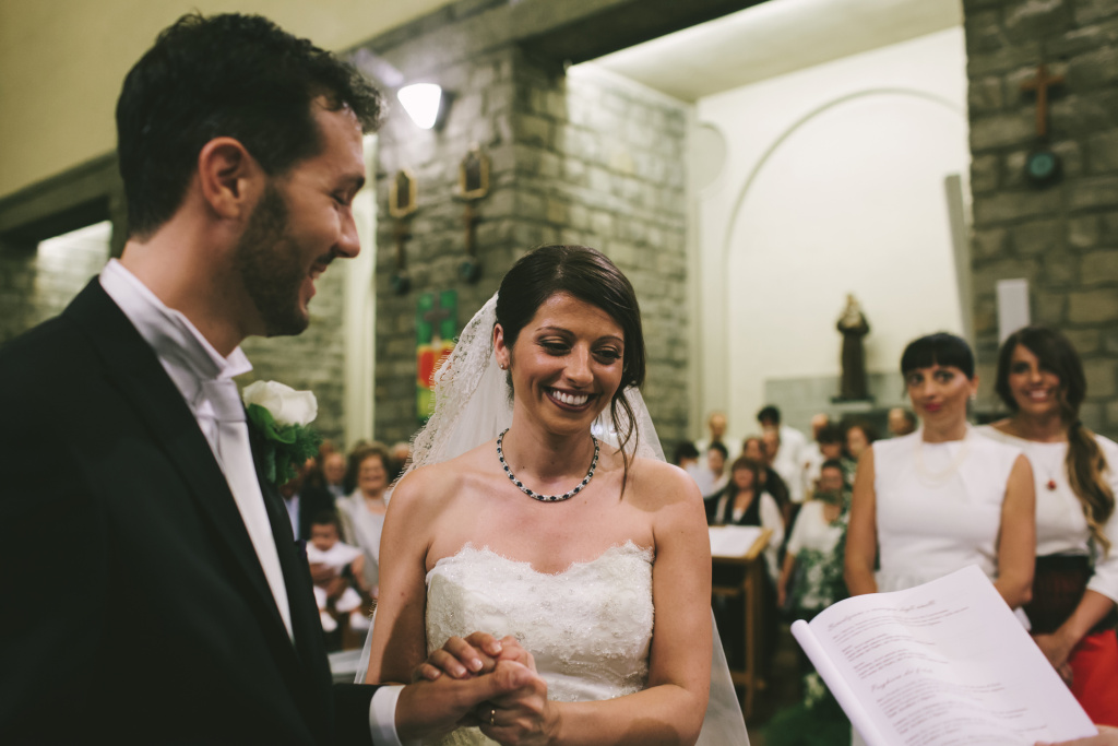 Cristian Casadei and Alice Gruppioni at their wedding in July 2013. The couple was honeymooning in Venice Beach in August 2013 when a car plowed down the pedestrian boardwalk, killing Gruppioni.