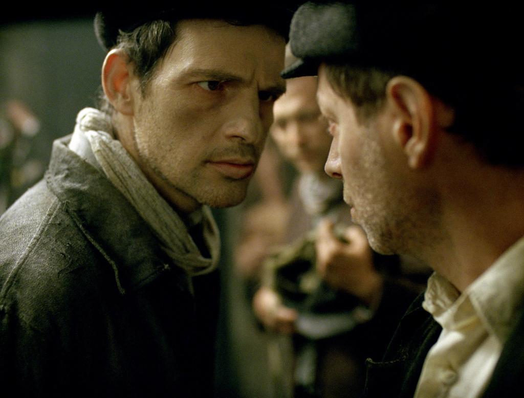 Géza Röhrig plays Saul, an Auschwitz Sonderkommando, in László Nemes's debut film,