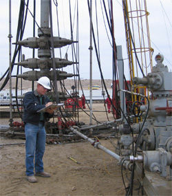 California posted draft regulations online Tuesday for hydraulic fracturing or fracking. Environmentalists say the practice can pollute the air and groundwater.
