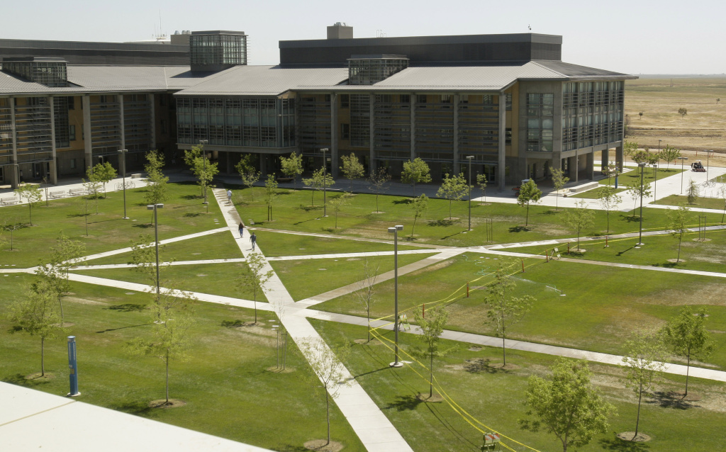 The UC Merced campus is seen in Merced, Calif., Monday, April 20, 2009.
