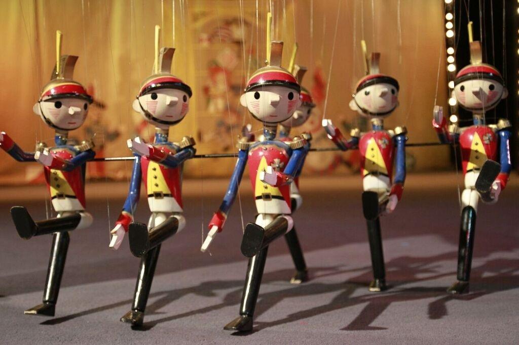 Bob Baker day marionettes.