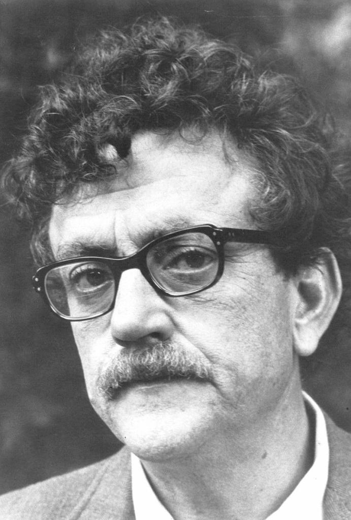 Writer Kurt Vonnegut, c. 1972