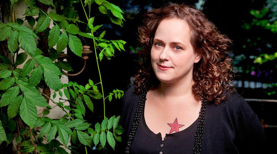 Writer Rosie Schaap who writes the monthly