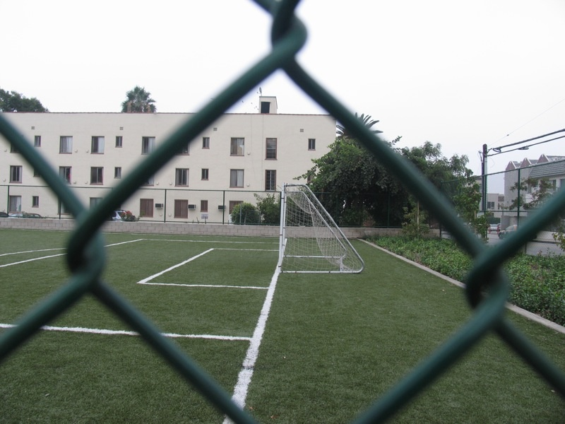 File: Soccer field, Yucca and Las Palmas, Hollywood.