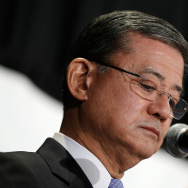 Veterans Affairs Secretary Shinseki Addresses Homeless Veterans Conference