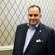 Assembly Speaker John Perez poses for a picture at the 2012 Democratic National Convention on Sept. 4, 2012.