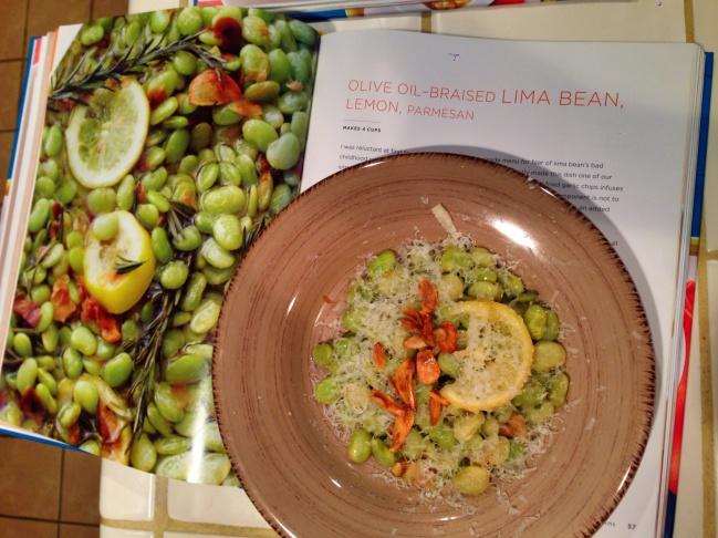 Lemonade's Olive Oil-Braised Lima Bean, Lemon, Parmesan