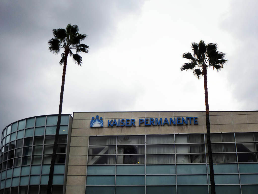 A Kaiser Permanente building on Sunset Blvd. in Hollywood on November 17, 2012.